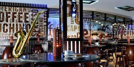 Jazzbar på hotell Jungle Aqua Park i Hurghada, Egypten.