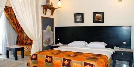 Dubbelrum på hotell Jungle Aqua Park i Hurghada, Egypten.