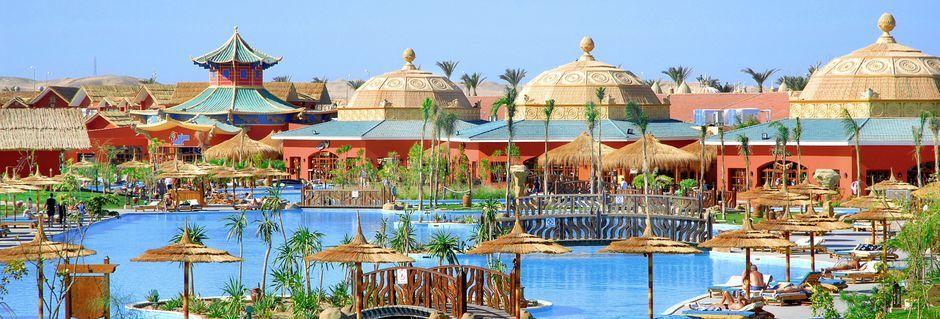 Hotell Jungle Aqua Park i Hurghada, Egypten.