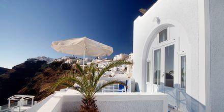 Hotell Kafieris Blue på Santorini, Grekland.