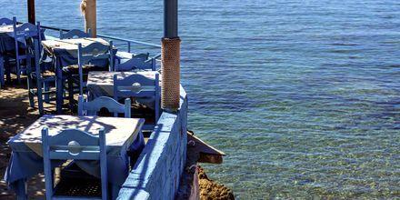 Restaurang i Peloponnesos, Grekland.