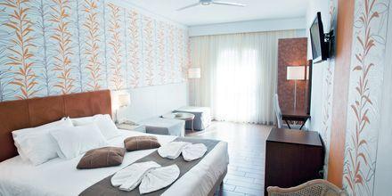 Familjerum på hotell Kalives Beach på Kreta, Grekland.