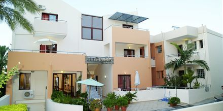 Hotell Kallitsaki på Kreta i Grekland.
