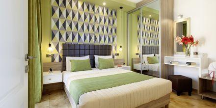Tvårumslägenhet på hotell Kallitsaki på Kreta i Grekland.
