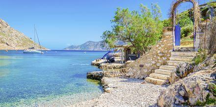 Vackra vyer på Kalymnos.
