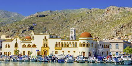 Pothia på Kalymnos, Grekland.