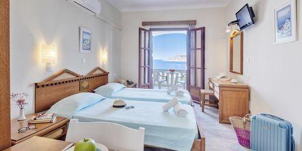 Enrumslägenhet på hotell Kalypso på Kalymnos, Grekland.
