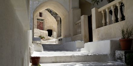 Kamari & Agia Paraskevi på Santorini, Grekland.