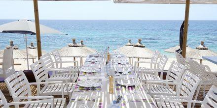 Strandrestaurang i Kanali, Grekland.