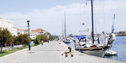 Hamnen i Preveza, som ligger drygt 10 km från Kanali.