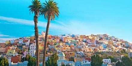 Las Palmas på Gran Canaria, Spanien.