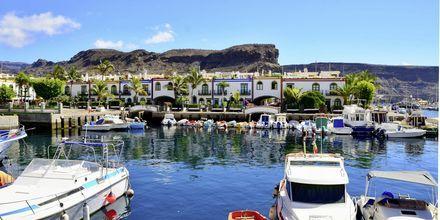 Charmiga Puerto de Mogán på Gran Canaria.