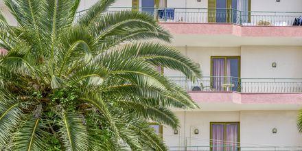 Hotell Kaonia i Saranda, Albanien.