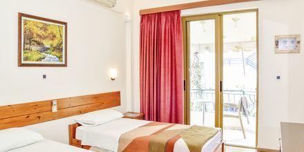Dubbelrum på hotell Kaonia i Saranda, Albanien.