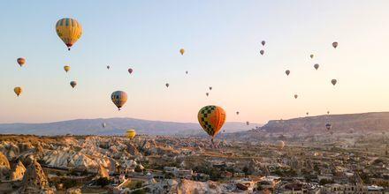 Luftballonger i Kappadokien.