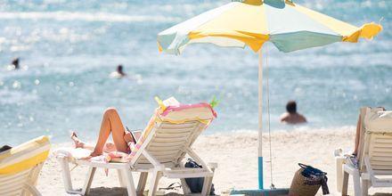 Härliga stranddagar i Kardamena på Kos.