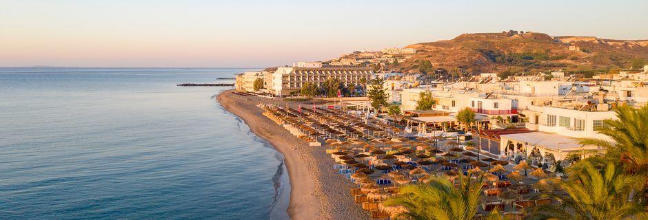 Njut av en härlig semester i charmiga Kardamena på Kos, Grekland.