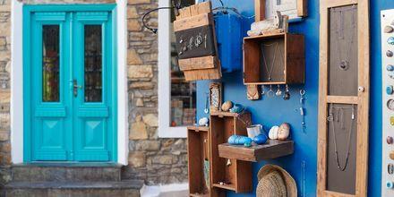 Detaljer i Karlovassi på Samos, Grekland.