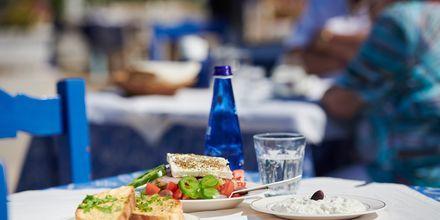 Lunchdags i Karlovassi på Samos.