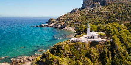 Kyrkan över Potamistranden på Samos.