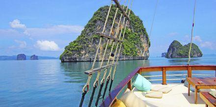 Båtutflykt med båten Champagne.
