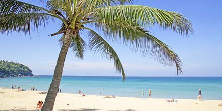 Karon Beach på Phuket i Thailand.