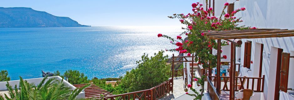 Hotell Aegean Village i Amopi på Karpathos.