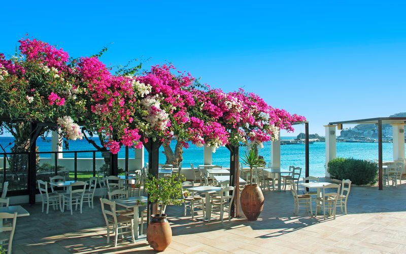 Electra Beach i Karpathos Stad.