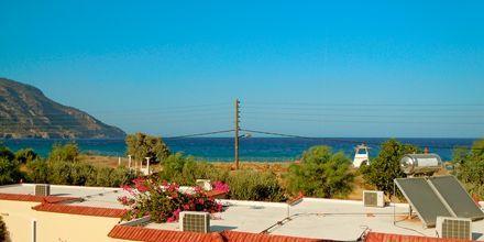 Utsikt från hotell Karpathos Village i Grekland.
