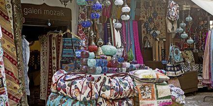 Shopping i Turkiet.