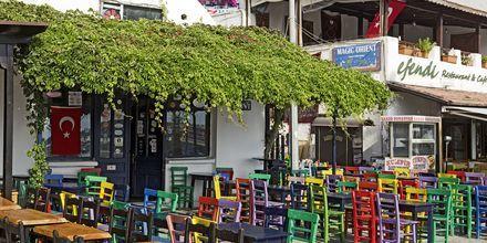 Restaurang i Kas, Turkiet.