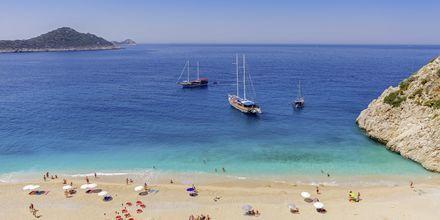 Kaputas beach utanför Kas i Turkiet.
