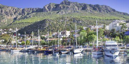 Hamnen i Kas, Turkiet.