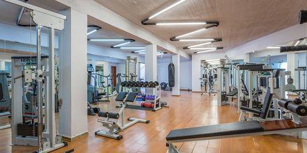 Gymmet på hotell Kassandra Bay på Skiathos, Grekland.
