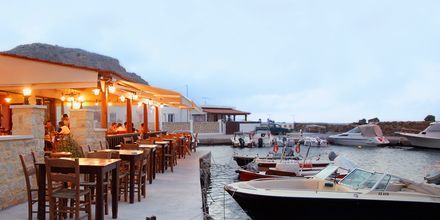 Hamnen i Kastelli på Kreta.