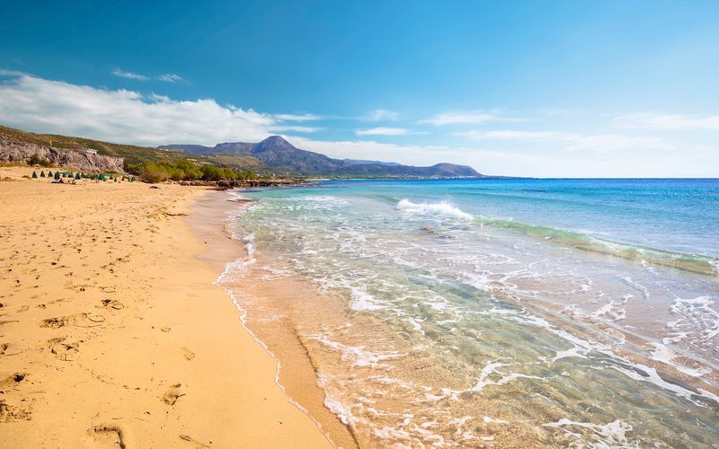 Utflykt till Falassarna på Kreta.