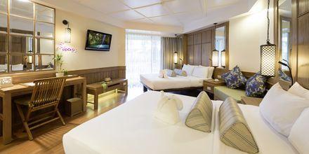 Superiorrum på hotell Katathani Phuket Beach Resort på Phuket, Thailand.