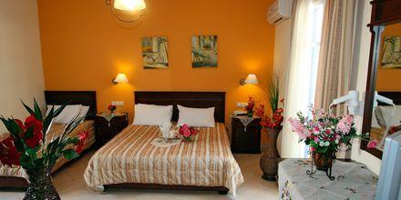 Enrumslägenhet på hotell Katerina i Agios Prokopios på Naxos, Grekland.