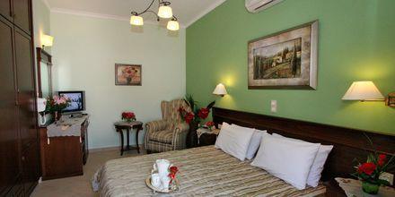 Tvårumslägenhet på hotell Katerina i Agios Prokopios på Naxos, Grekland.