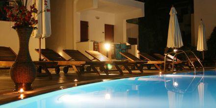 Hotell Katerina i Agios Prokopios på Naxos, Grekland.