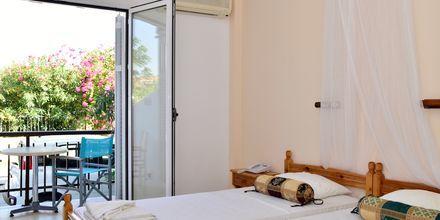 Dubbelrum på hotell Katerina i Pythagorion på Samos, Grekland.