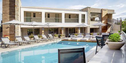 Poolen på hotell KB Ammos på Skiathos, Grekland.