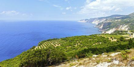Kefalonia är en vacker och grönskande ö.