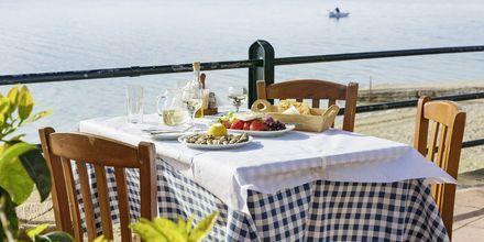 I Fiskardo finns det gott om trevliga restauranger.