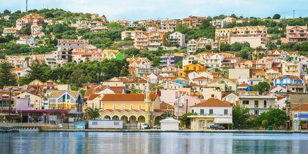 Argostoli är Kefalonias största stad.