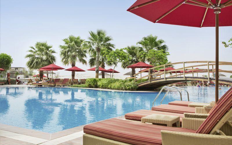 Hotell Khalidiya Palace Rayhaan i Abu Dhabi, Förenade Arabemiraten.