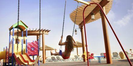 Lekplatsen på hotell Khalidiya Palace Rayhaan i Abu Dhabi, Förenade Arabemiraten.