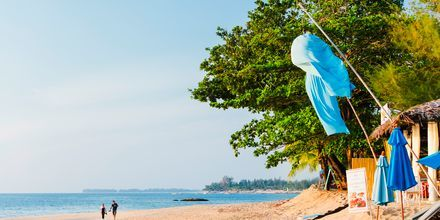 Stranden i Khao Lak, Thailand.