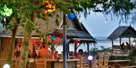 Strandrestaurang i Khao Lak, Thailand.