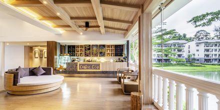 Lobby på Khaolak Emerald Beach Resort, Thailand.
